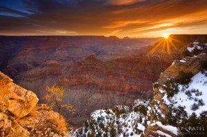 Sunrize on Grand Canyon National Park