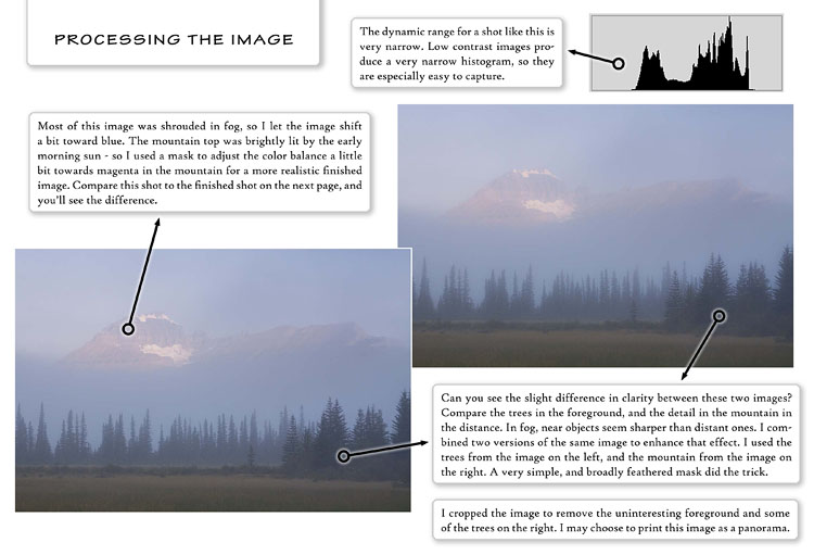Mountain Photography eBook Sample Page