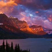 Transient Light, Glacier National Park, MT