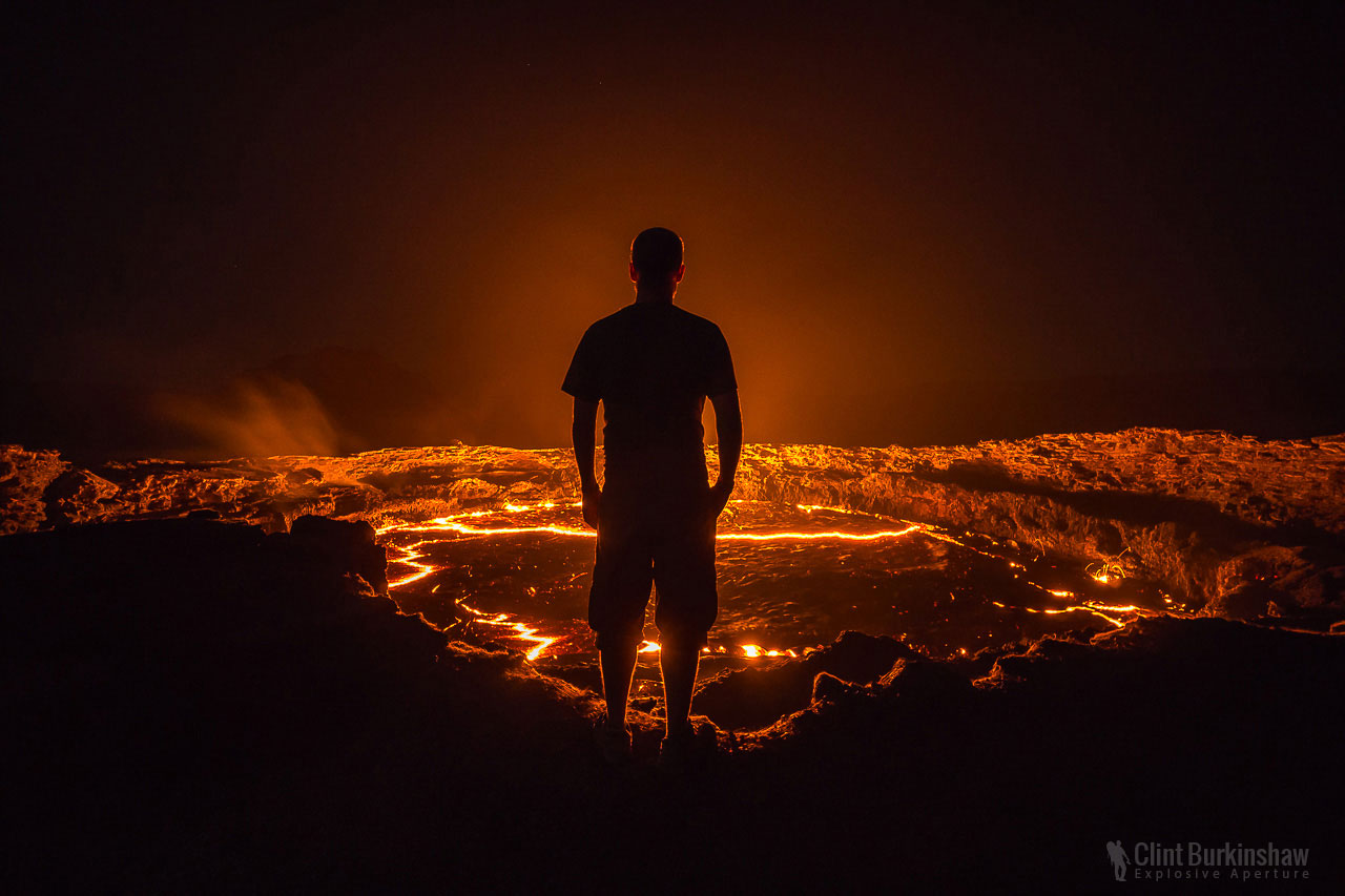 Landscape photography blog cover for photographing Erta Ale Volcano by Clint Burkinshaw
