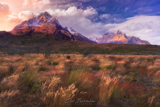 Outdoor travel yhotography example of golden hour by Clint Burkinshaw