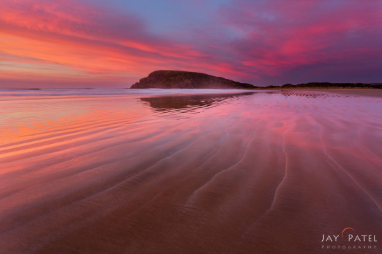 Landscape photography from Cannibal Bay, New Zealand by Jay Patel