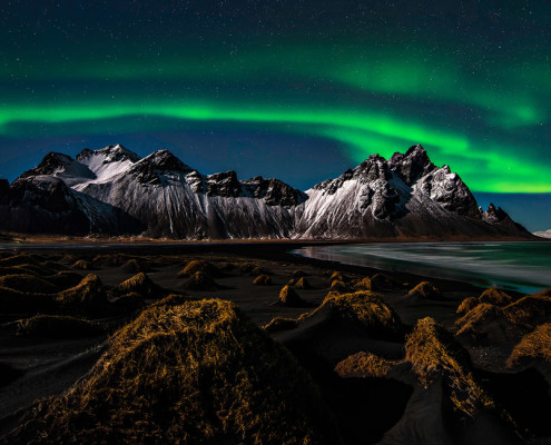 Northern light over Iceland