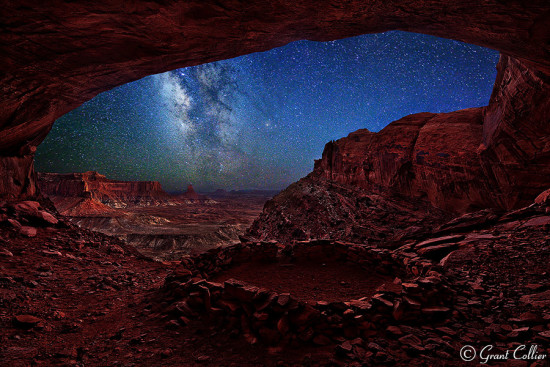 Milky Way Photography at Native American Ruins by Grant Collier