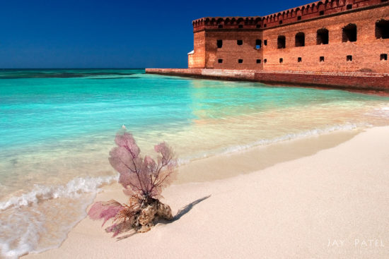 Landscape photography with a crop factor camera from Dry Tortugas, Florida