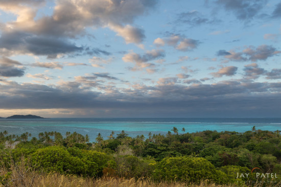 HDR Landscape photography captured using exposure bracketing at Mana Island, Fiji by Jay Patel