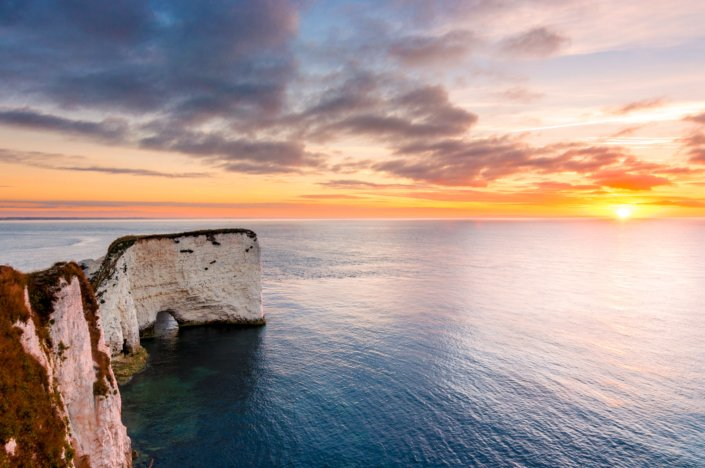 Old Harry Rocks, Dorset, UK